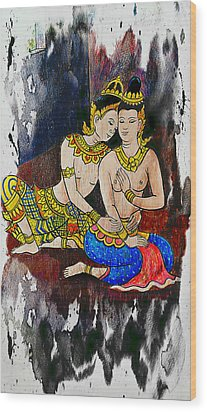 Royal Lovers Of Siam  Wood Print by Ian Gledhill