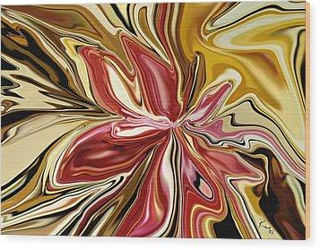 Royal Orchid Wood Print by Rabi Khan