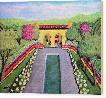 Royal Shrine Wood Print