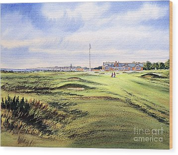 Royal Troon Golf Course Wood Print