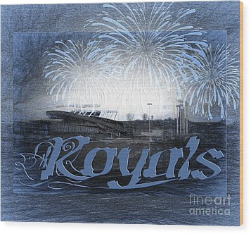 Wood Print featuring the photograph Royals by Andee Design