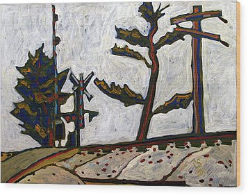 Rrxing 450n 500s Wood Print by Charlie Spear