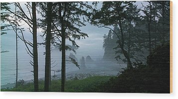 Ruby Beach II Washington State Wood Print
