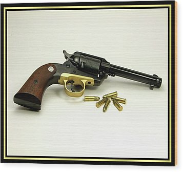 Ruger Bearcat Wood Print by Ron Roberts