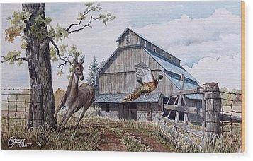 Rural Flush Wood Print