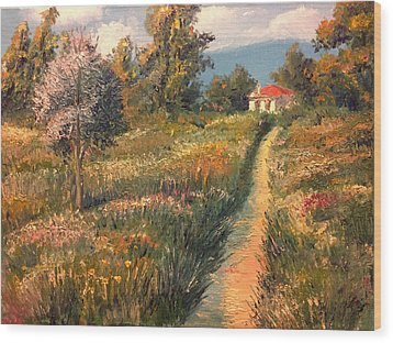 Rural Idyll Wood Print by Vit Nasonov