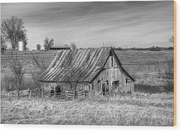 Rural Iowa Wood Print
