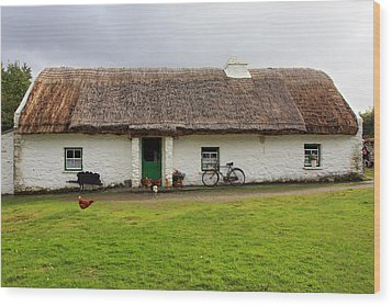 Rural Life In Ireland Wood Print by Pierre Leclerc Photography