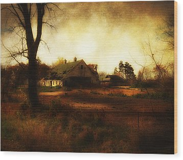 Rural Minnesota Wood Print