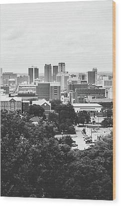 Wood Print featuring the photograph Rural Scenes In The Magic City by Shelby Young