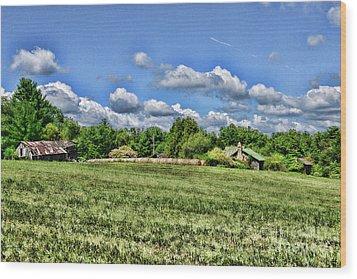 Rural Virginia Wood Print by Paul Ward