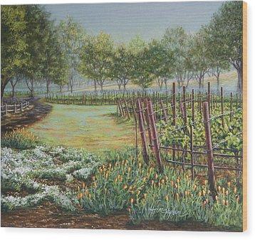 Rusack's Backgate Wood Print