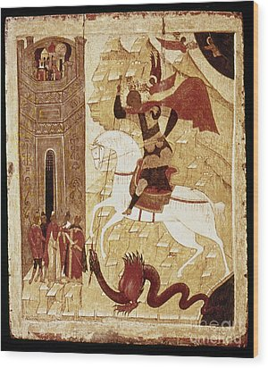 Russia: Icon Wood Print by Granger