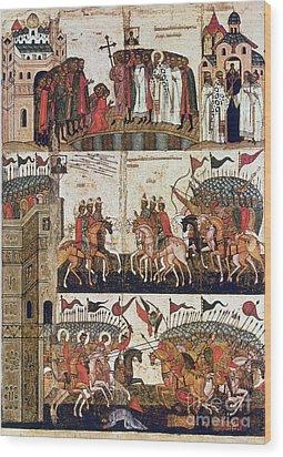 Russia: Novgorod Wood Print by Granger