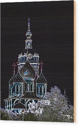 Russian Dreams Wood Print