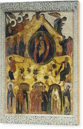 Russian Icon Wood Print by Granger
