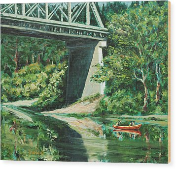Russian River Wood Print