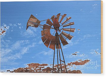 Wood Print featuring the photograph Rust Age by Stephen Mitchell