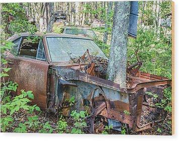 Rust Away Wood Print