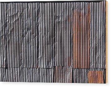 Rust Wood Print by Kelley King
