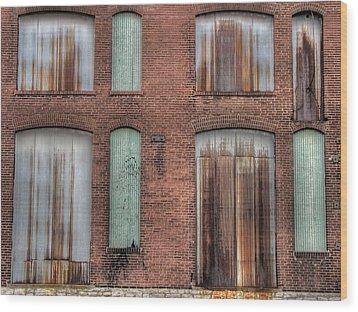Rust Never Sleeps Wood Print by Jane Linders
