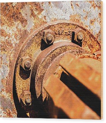 Rust Wood Print by Onyonet  Photo Studios