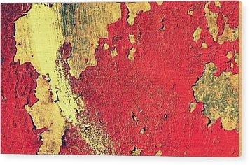 Rust Wood Print