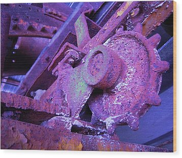 Wood Print featuring the photograph Rust Sleeping by Don Struke