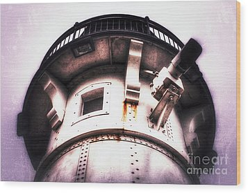 Wood Print featuring the photograph Rusted Beacon by Mark David Zahn