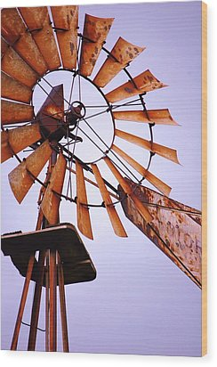 Rusted In The Past Wood Print by Jame Hayes
