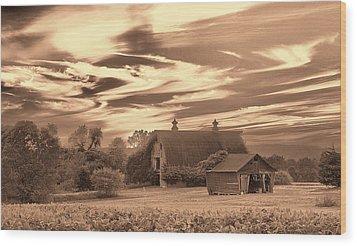 Rustic Barn 2 Wood Print