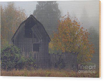 Rustic Fall Wood Print