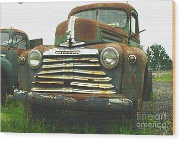 Rustic Mercury Wood Print by Randy Harris