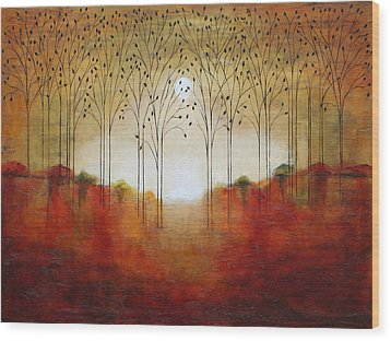 Rustic Woods Wood Print