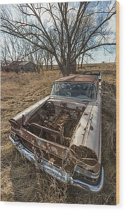 Wood Print featuring the photograph Rusty by Aaron J Groen