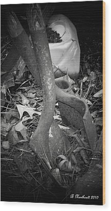 Wood Print featuring the photograph Rusty Embrace by Betty Northcutt