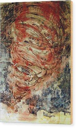 Rusty Tornado Wood Print by Jame Hayes
