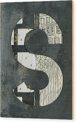 The Letter S Wood Print