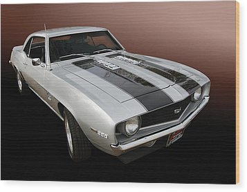 S S Camaro Wood Print by Bill Dutting
