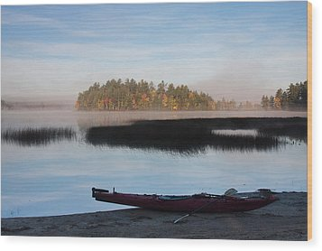 Sabao Morning Wood Print by Brent L Ander