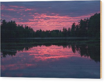 Sabao Sunset 01 Wood Print by Brent L Ander