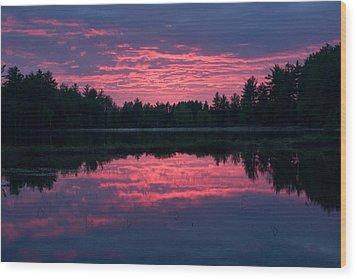 Sabao Sunset 01 Wood Print