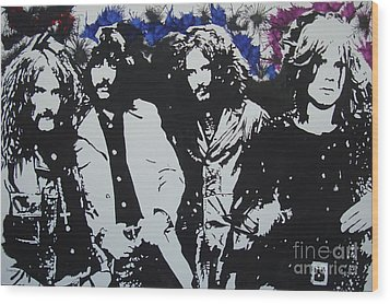 Sabbath F N Sabbath Wood Print by Stuart Engel