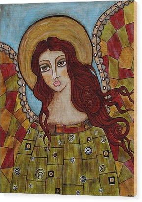 Sachael Wood Print by Rain Ririn