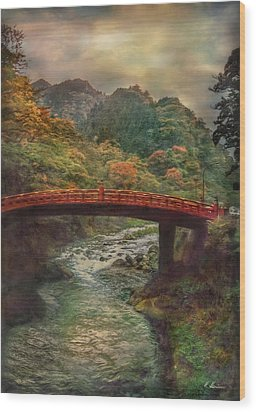 Wood Print featuring the photograph Sacred Bridge by Hanny Heim