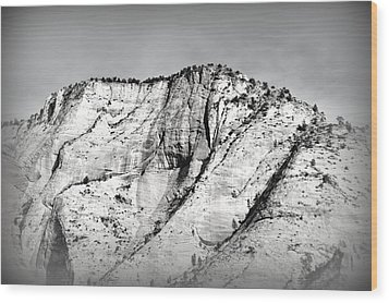 Sacred Mountain Wood Print