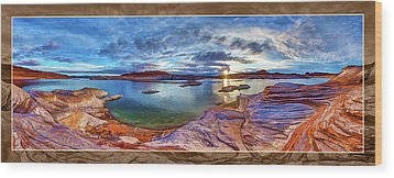 Wood Print featuring the photograph Sacred Rising by ABeautifulSky Photography