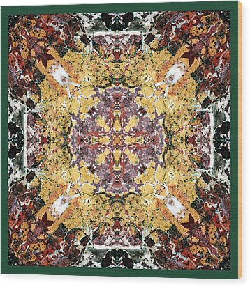 Sacred Space Wood Print by Bell And Todd
