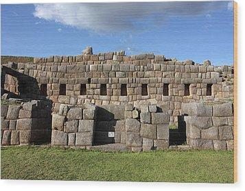 Sacsaywaman Cusco, Peru Wood Print by Aidan Moran