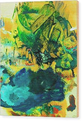 Safe Harbor #305 Wood Print by Donald k Hall